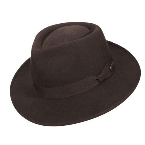 Indiana Jones Wool Felt Fedora Hat Boys Size - 551B