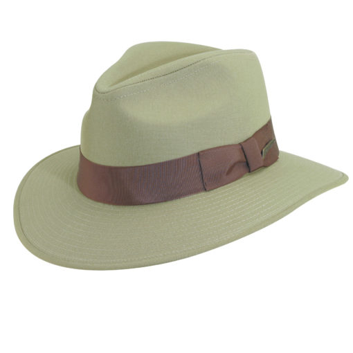 Khaki Indiana Jones Cotton Safari Hat
