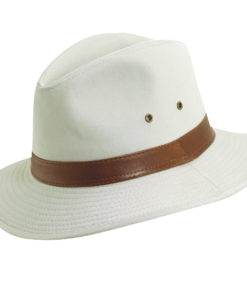 Putty Water Repellent Garment Washed Twill Safari Hat