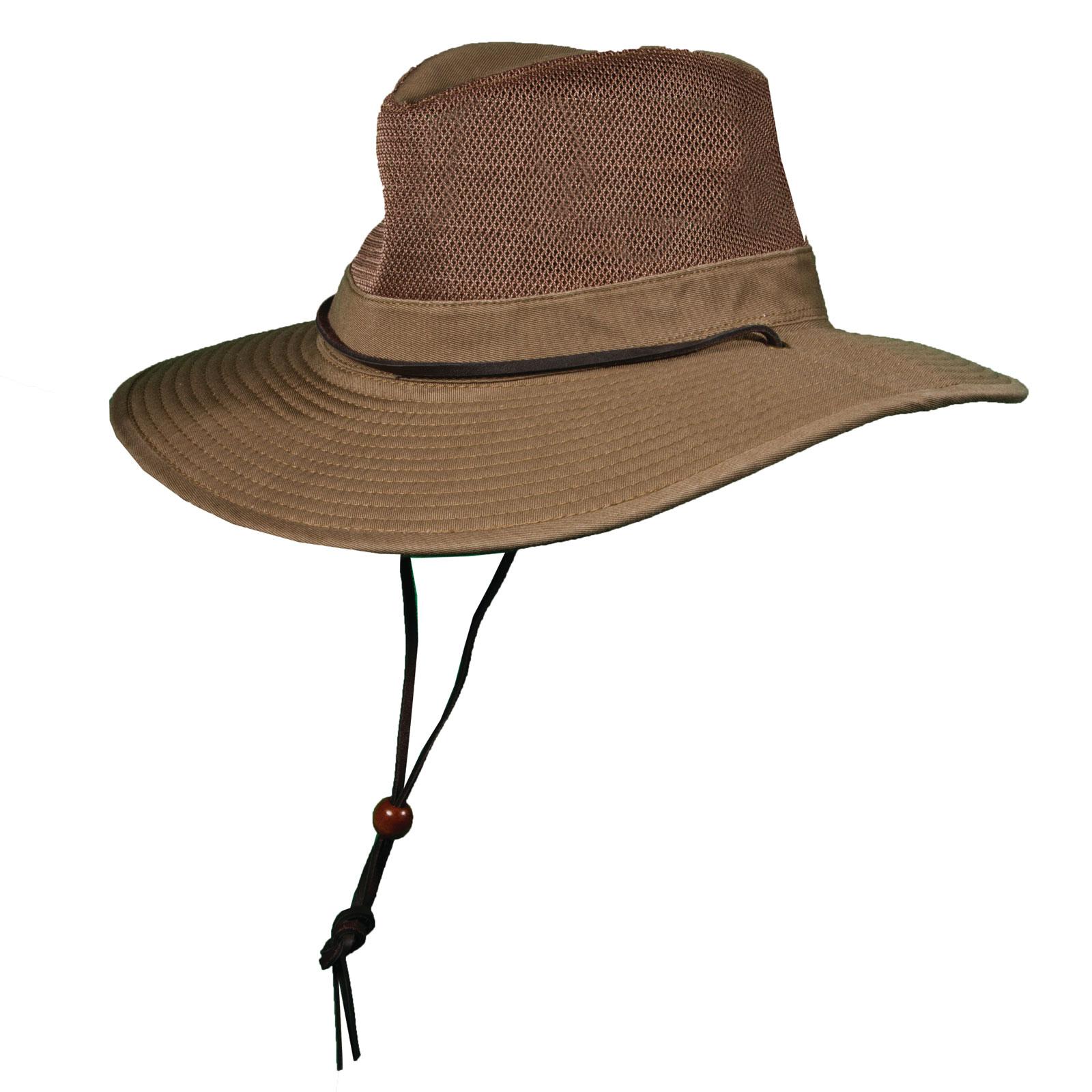 1c563e21583 Olive Garment Washed Twill Safari Hat with Mesh Sidewall · 864WM BRONZE 3Q