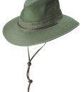 c567e68df50 Olive Garment Washed Twill Safari Hat with Mesh Sidewall