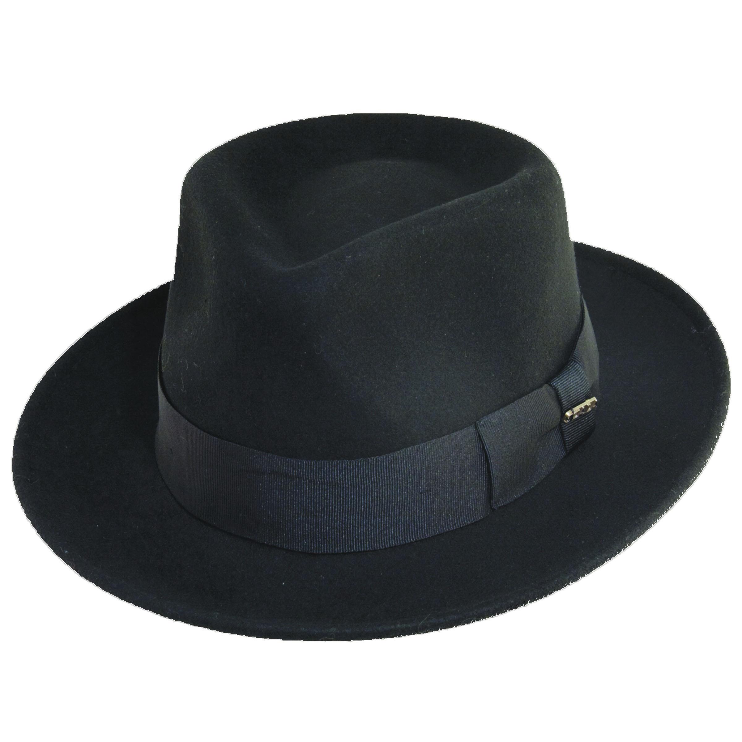817db4e4b0ac18 Crushable Wool Felt Fedora | Explorer Hats