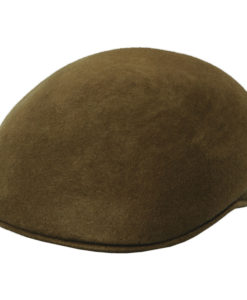 Crushable Wool Felt Ascot Hat - Tan