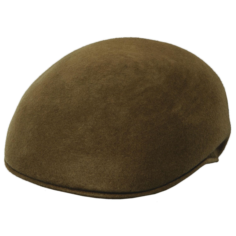 c95efd88455 Crushable Wool Felt Ascot Hat - Tan