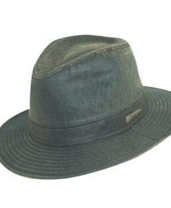 Indiana Jones Weathered Cotton Fedora Hat