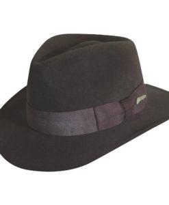 Indiana Jones Wool Felt Fedora Hat