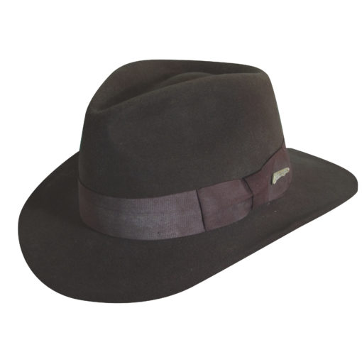 Indiana Jones Wool Felt Fedora Hat