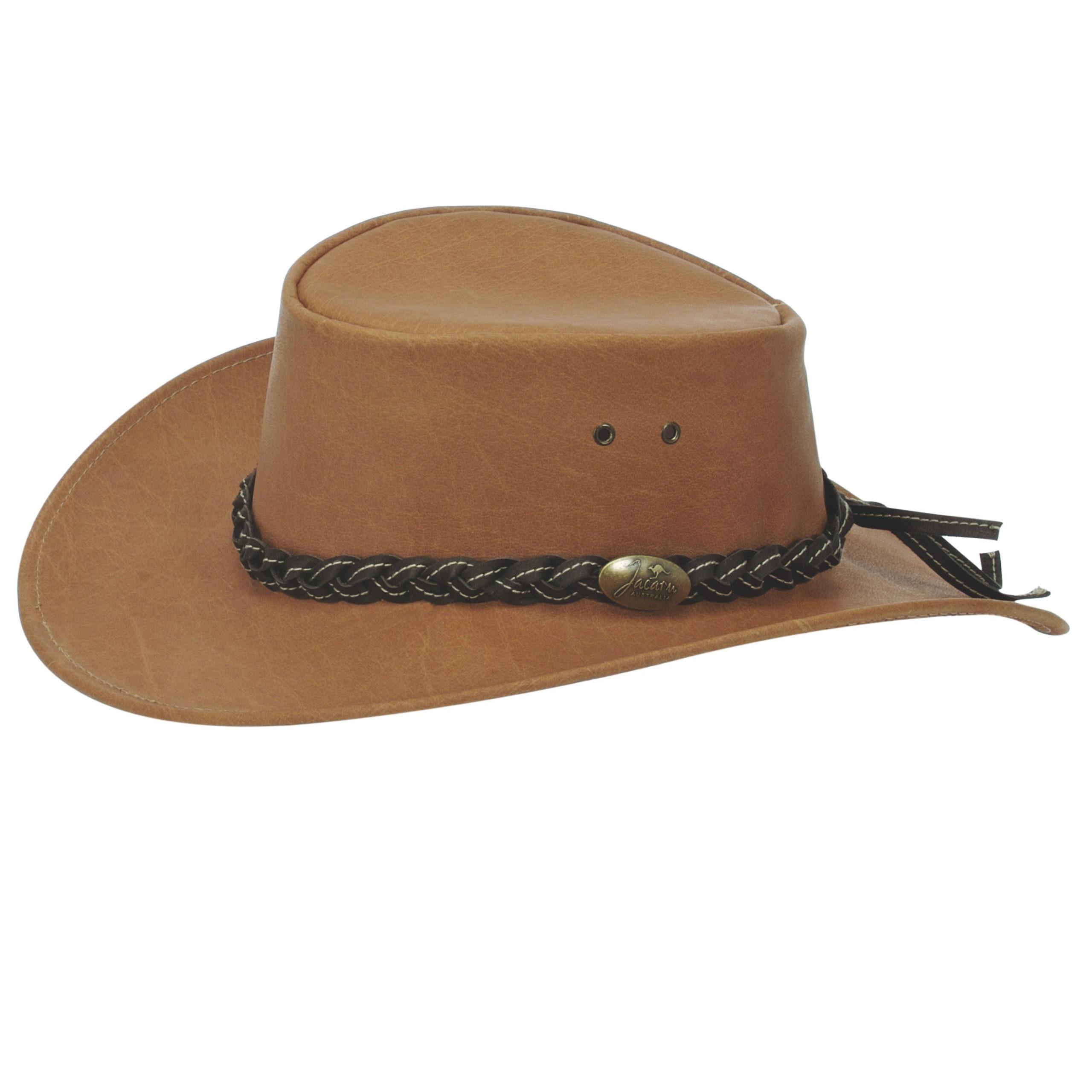 Mushroom Jacaru 'Buffalo' Leather Hat