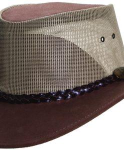 Mushroom Jacaru Cowhide Summer Breeze Hat