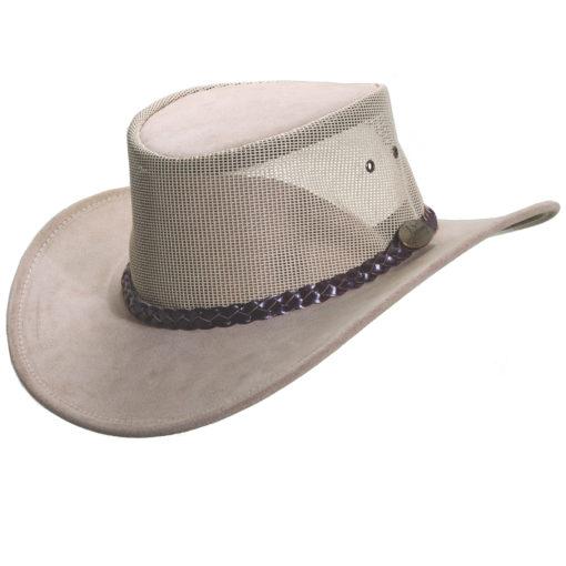 Sand Jacaru Cowhide Summer Breeze Hat