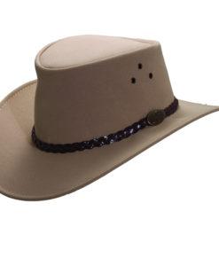 Sand Jacaru Faux Suede 'Ranger' Hat