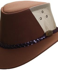 Mushroom Jacaru Faux Suede 'Buffalo' Hat