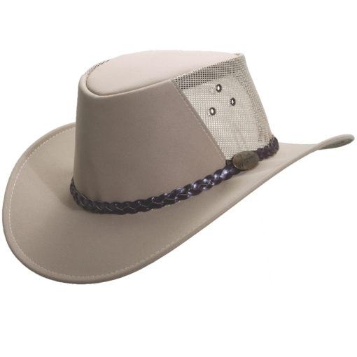 Sand Jacaru Faux Suede 'Buffalo' Hat