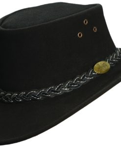 Black Jacaru 'Wallaroo Suede' Hat