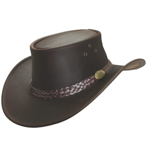 Brown Jacaru 'Wallaroo Oil' Hat