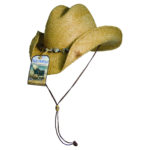 Blue Chair Bay Western Raffia Hat Tea