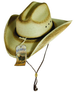 Kenny Chesney Palm Leaf Cattleman Hat