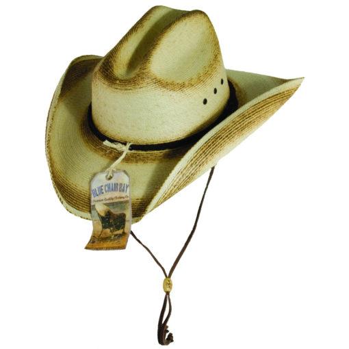 Kenny Chesney Palm Leaf Cattleman Hat