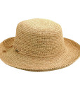 Organic Raffia Sun Hat  Natural