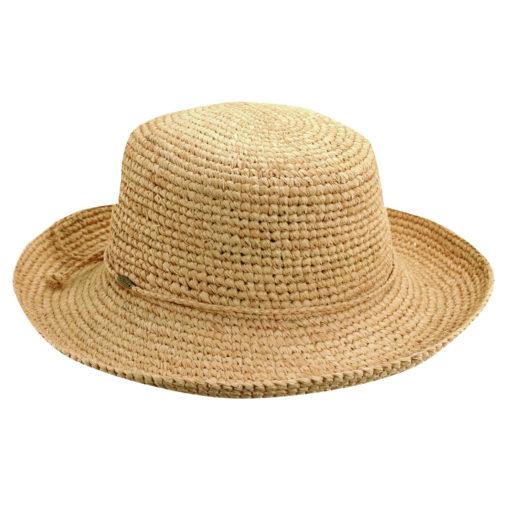 Organic Raffia Sun Hat  Natural