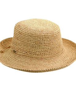 Organic Raffia Sun Hat - Natural