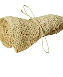 Organic Raffia Sun Hat - rolled