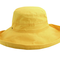 Cotton Sunhat with 3 inch Brim Banana