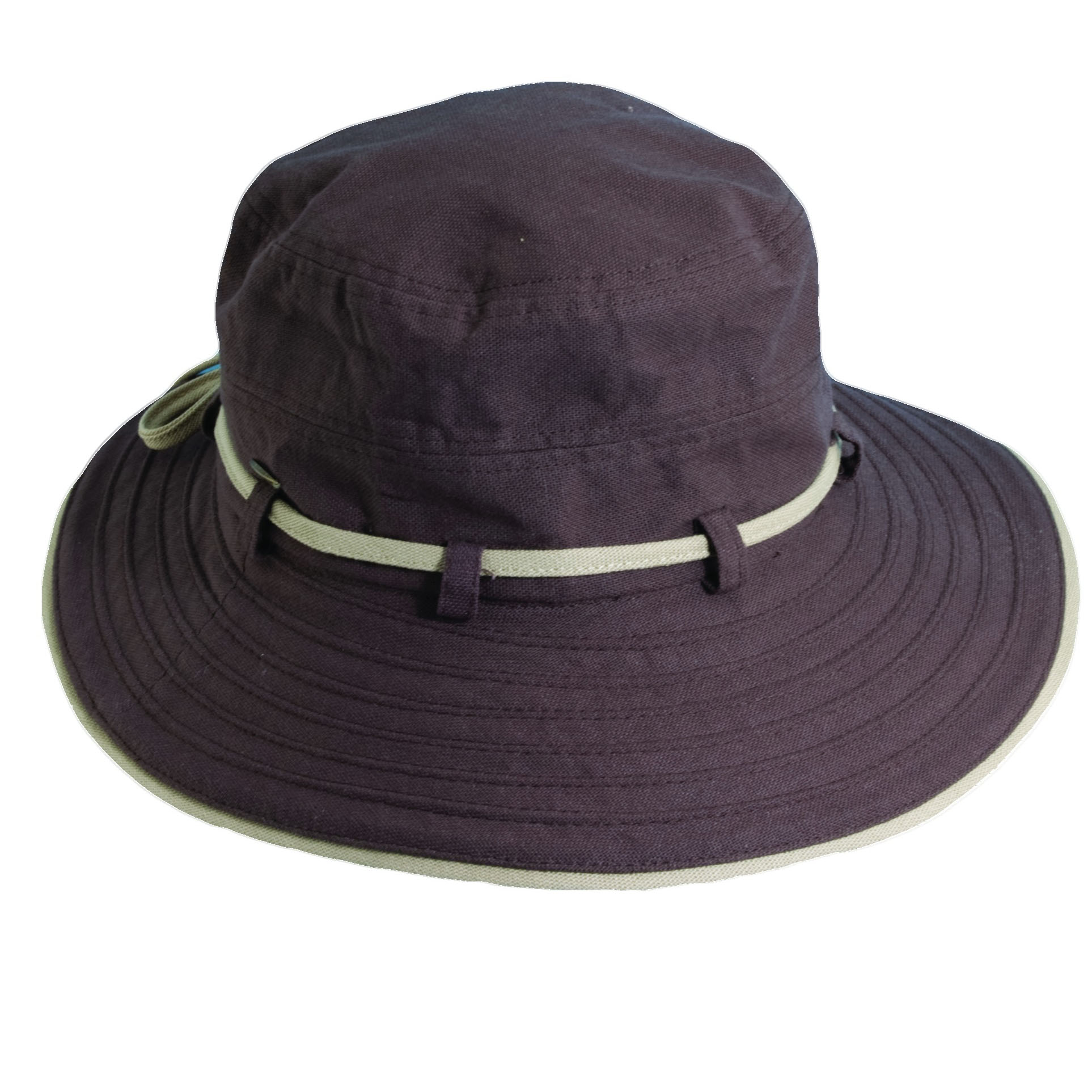 Deluxe Cotton Sun Hat Chocolate 335a7dbb9638