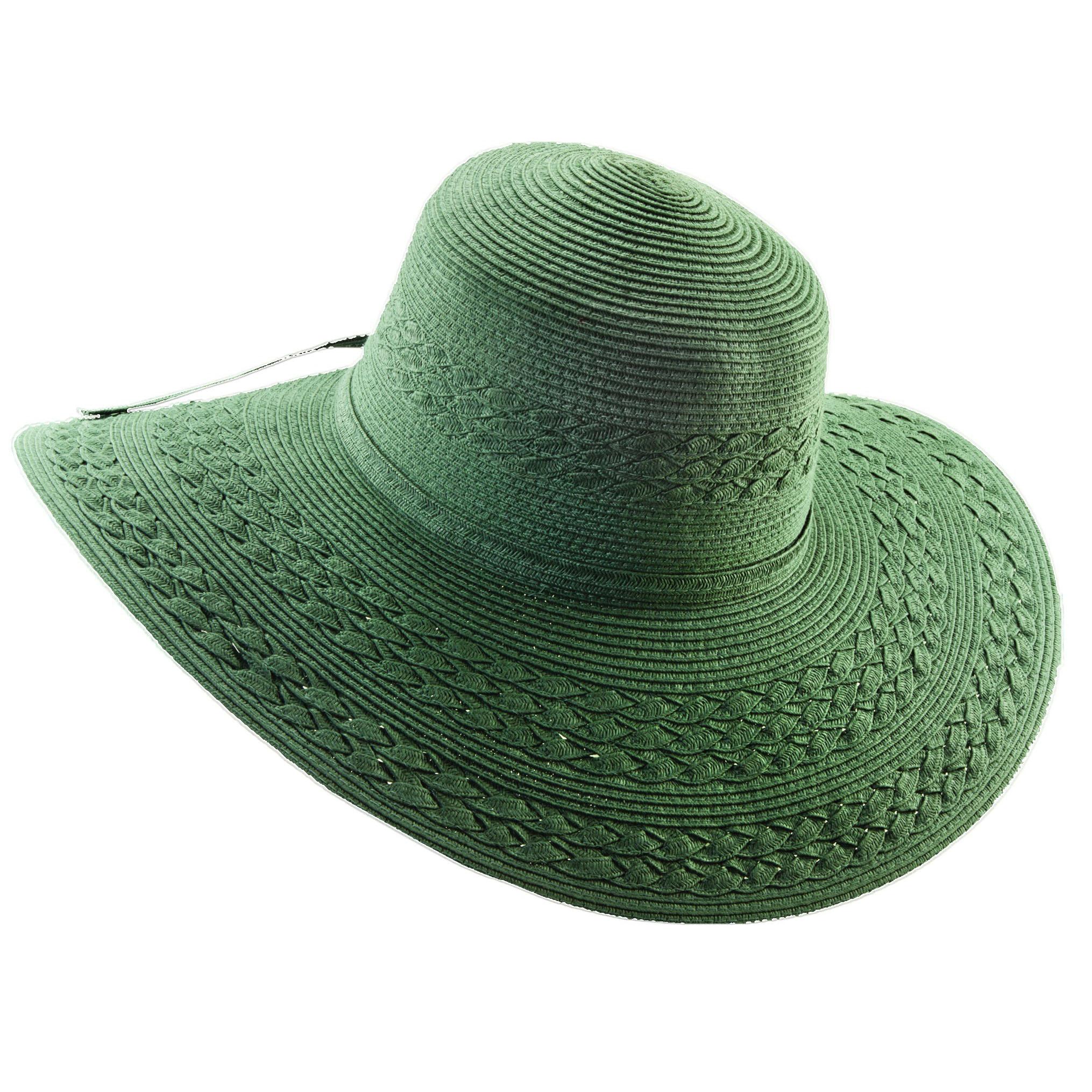 how to clean striaghten a paper sun hat
