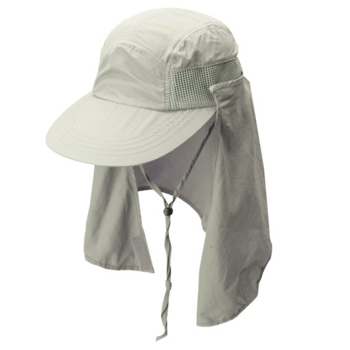 Supplex Nylon Fishing Cap Khaki