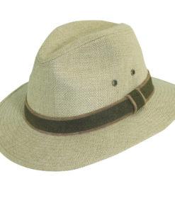 Camel Hemp Safari Hat