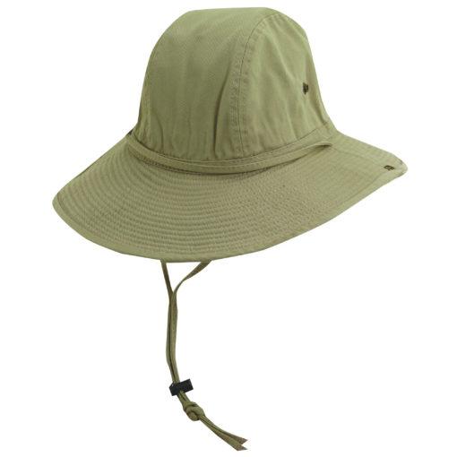 Khaki Garment Washed Twill Trail Hat
