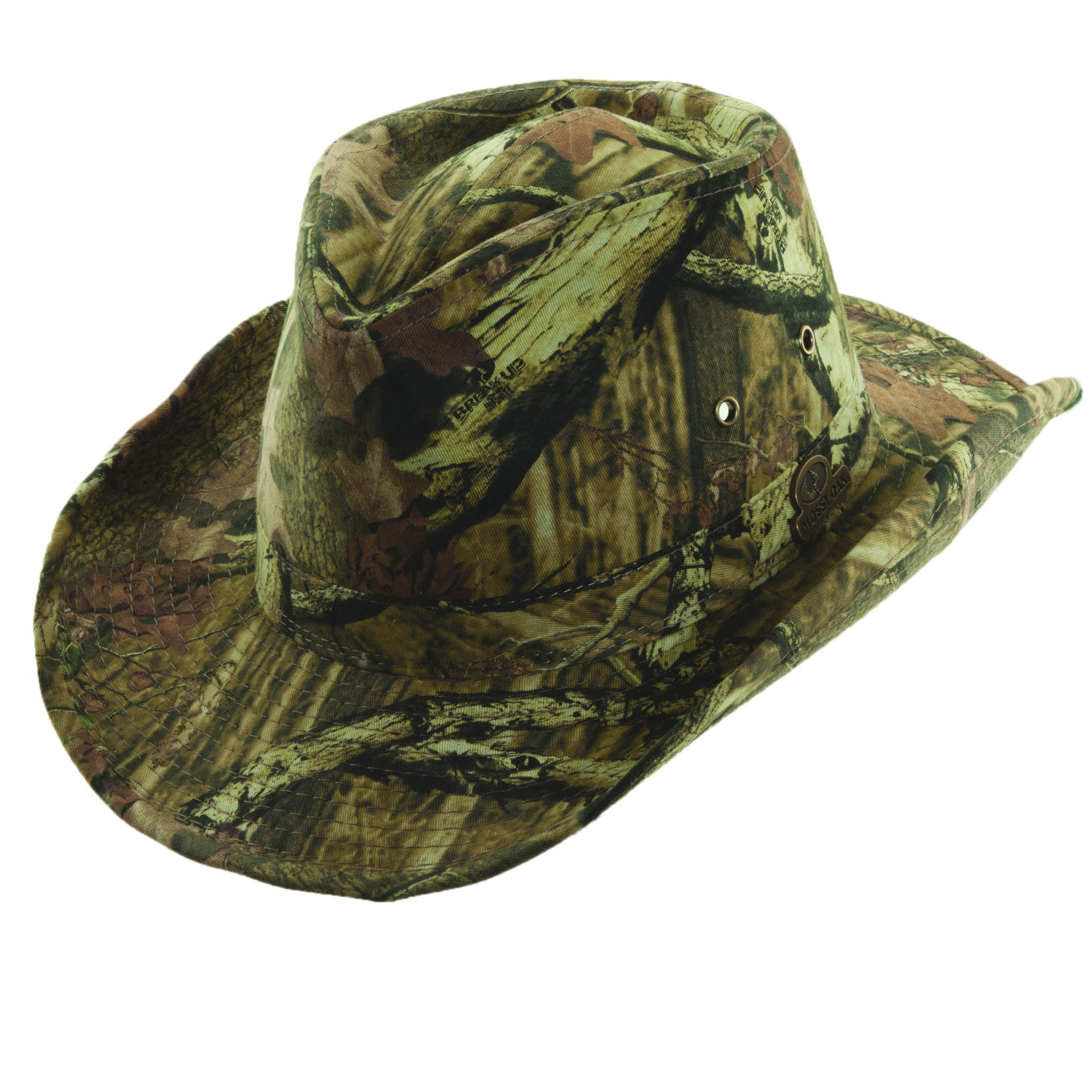 mossy oak outback hat with shapeable brim explorer hats
