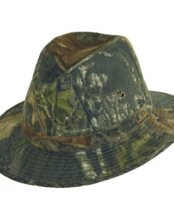 Mossy Oak Safari Hat with Shapeable Brim New Breakup