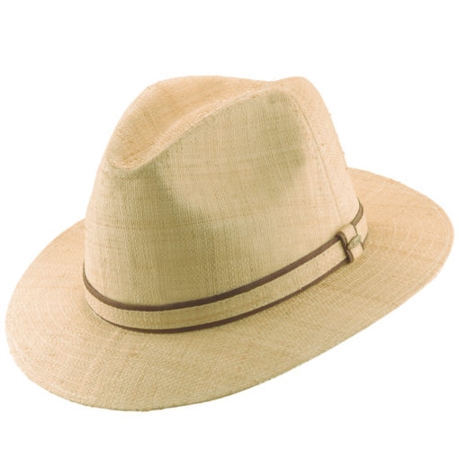 Natural Organic Raffia Safari Hat