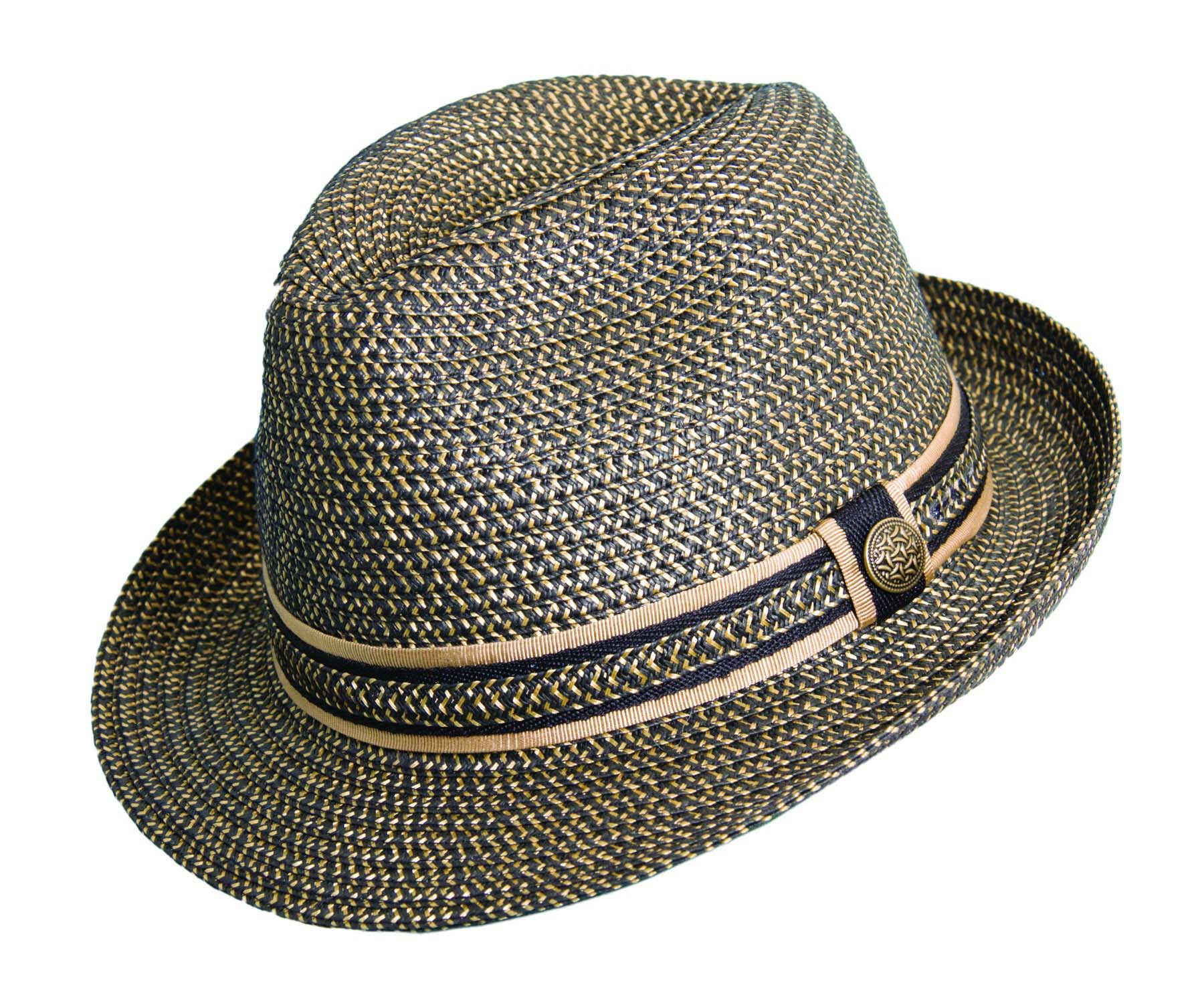 53f4c7aaa Paper Braid Fedora with Ribbon Trim | Explorer Hats