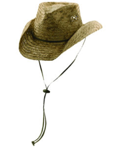 Burnt Rush Straw Outback Hat