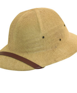 Tan DPC Twisted Fine Toyo Pith Helmet