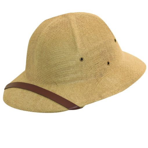 Tan DPC Twisted Fine Toyo Pith Helmet