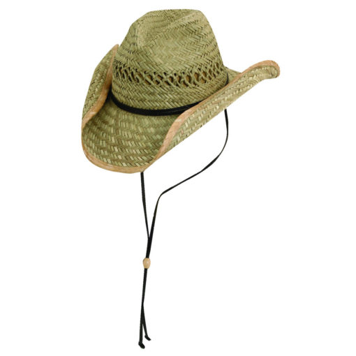 Rush Straw Outback Hat with Chin Cord