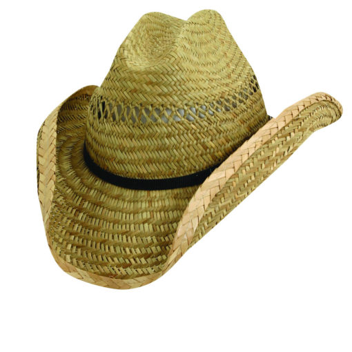 Rush Straw Western Hat