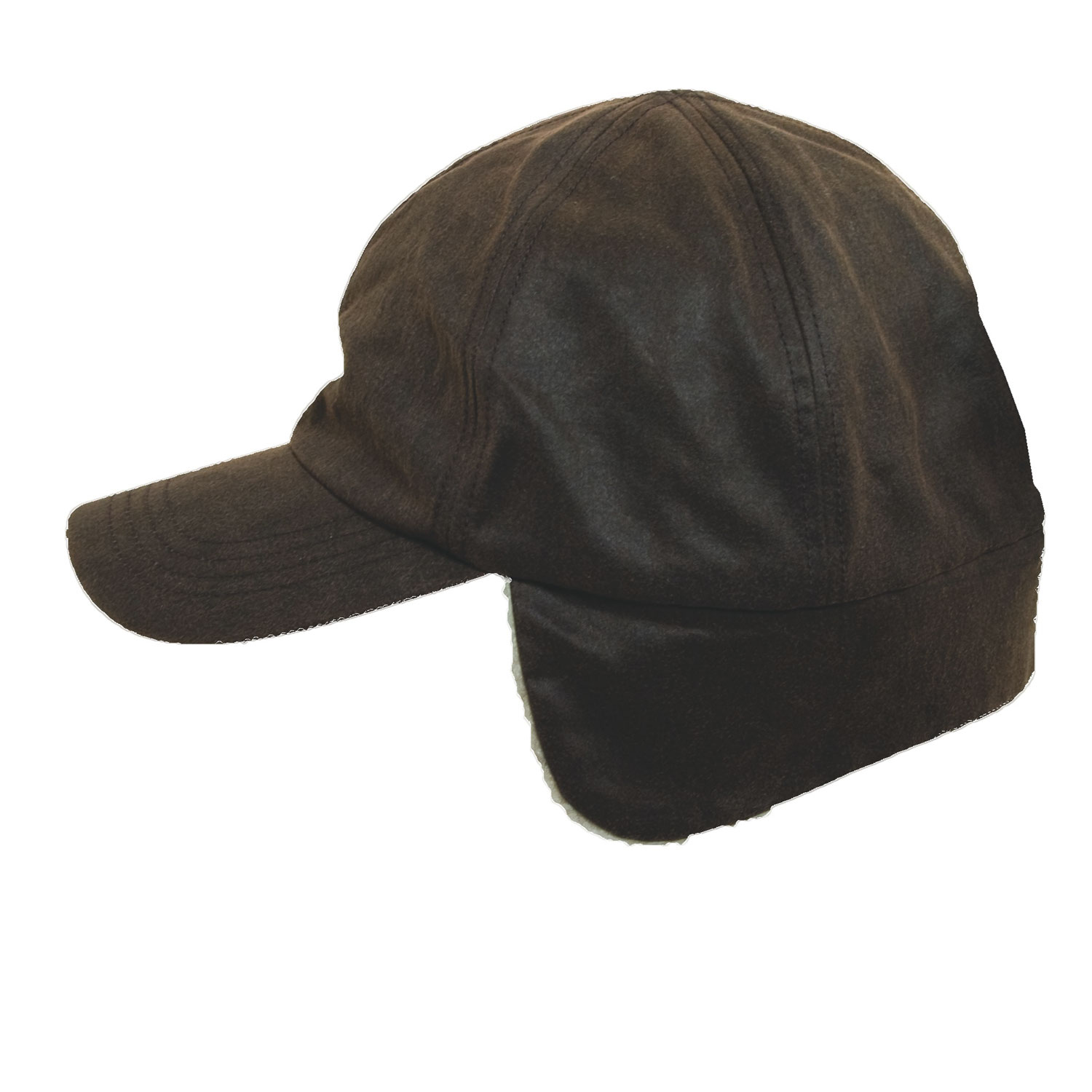 Weathered Cotton Winter Cap With Earflaps Explorer Hats