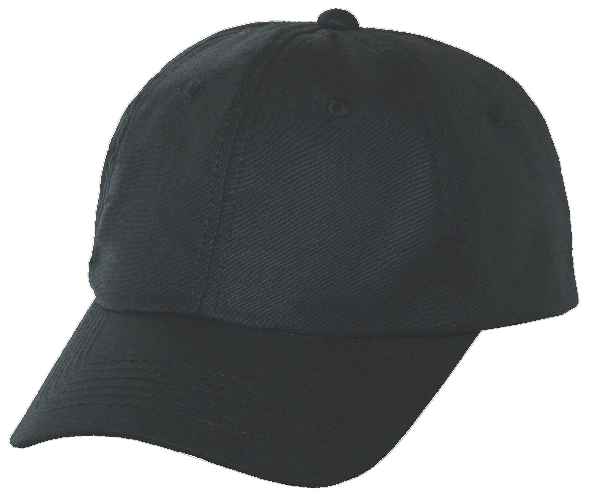 Black Oil Cloth Ball Cap e0e3d907f9f
