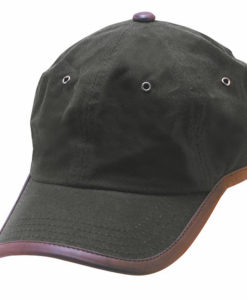 Oil Cloth Ball Cap