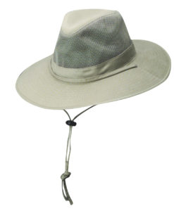 Camel Solarweave Safari Hat with Coolmax