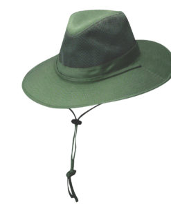 Olive Solarweave Safari Hat with Coolmax