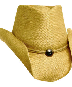 Toyo Western Hat with Concho and Chin Cord Mud