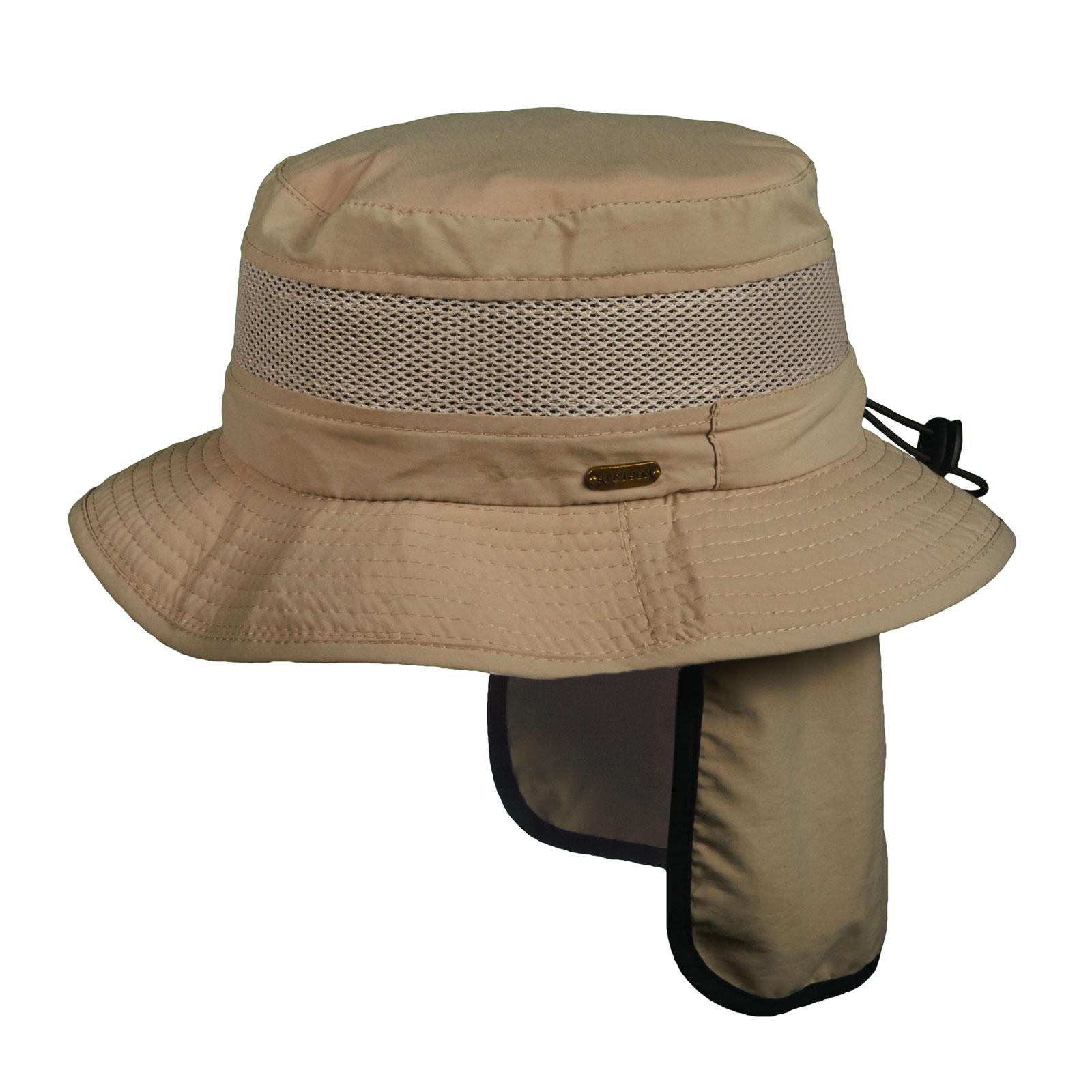 b74661bf8c9 Stetson No Fly Zone Nylon Mesh Boonie Hat