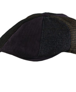 Stetson Wool Blend Patchwork 8/4 Cap Brown